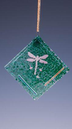 Dragonfly Ornament - Green Suncatcher
