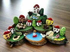 Pebble Art Diy Projects Inspiration 32 New Ideas Stone Crafts, Rock Crafts, Diy And Crafts, Crafts For Kids, Arts And Crafts, Pebble Painting, Pebble Art, Stone Painting, Art Pierre