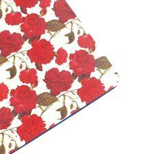 Schreibunterlage,+rote+Rosen,+Rose,+deskboard+von+ars-unica+auf+DaWanda.com
