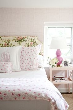 Porthault bedding. soothing bedrooms