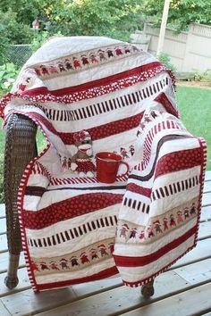 Sock Monkey Quilt via Craftsy