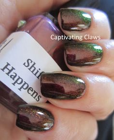 This nail polish is amazing & the name is cool: Pam's Girly Bits: Shift Happens!