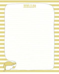 Paper- yellow- little girl