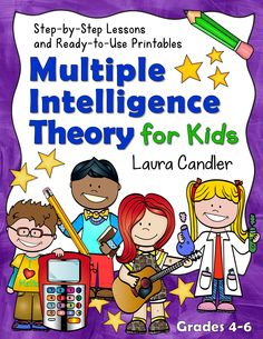 Multiple Intelligence Theory for Kids: Step-by-Step Lessons and Ready-to-Use Printables! Everything you need to teach a unit on MI theory for upper elementary or middle school students! #LauraCandler $