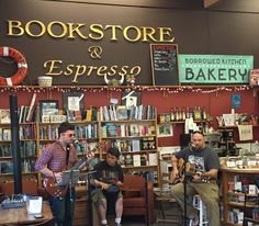 Music in store for #seabookstoreday May 2nd 2015 #poulsbo