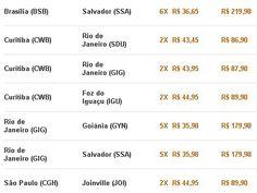 Ofertas a partir de R$ 86,90 na #GOL, não perca! Acesse: http://megaroteiros.com.br/voegol #aproveite #promocao #ofertas #veja
