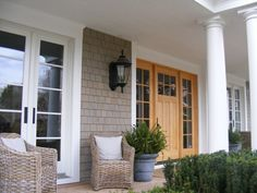 Cape Cod Front Door Design, Pictures, Remodel, Decor and Ideas - page 16