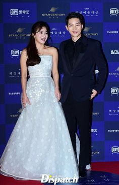 Song Hye Kyo Joong Ki Kikyo Couple At Baeksang Awards