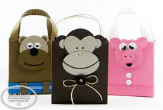 My little craft blog: More Punch Art Gift Bags