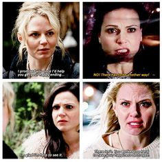 I love Regina and Emma. That is true friendship. And to think they once despised each other.