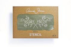 Annie Sloan Antheia Stencil