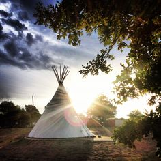 going native. el cosmico - marfa. tx.