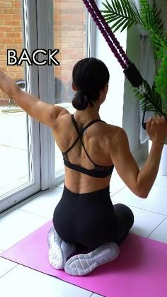 Fitness Workouts, Gym Workout Videos, Gym Workout For Beginners, Fitness Workout For Women, Sport Fitness, At Home Workouts, Back Workouts, Workout Plans, Exercices Swiss Ball