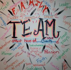 #Inspiration for our #family to strive for...#TEAM!