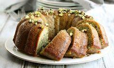 Cardamom-Glazed Pistachio Cake