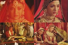 A A I N A - Bridal Beauty and Style: Bollywood Bride: Aishwarya Rai in Jodha Akbar