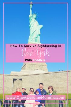 Are you looking to visit New York City with your family? Are you looking for family trip ideas or family trip destinations? Check out this guide to survive sightseeing in New York that has travel tips for your family travel. Travel with kids, travel with baby, travel with baby, this will ensure your family trips will go as smooth as possible. Click on the image to learn more.