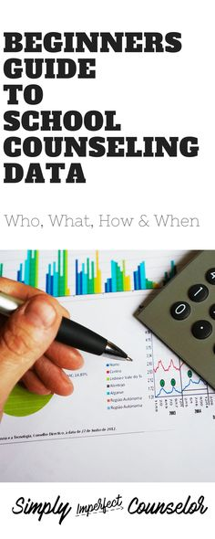 How to use school counseling data