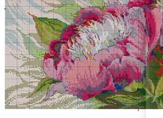 Beaded Embroidery, Cross Stitch Embroidery, Embroidery Patterns, Cross Stitch Patterns, Bargello, Cross Stitch Flowers, Embroidery Techniques, Floral Fabric, Rug Hooking