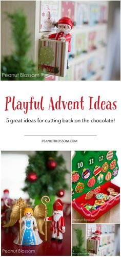 Looking for a fun and playful way to celebrate the Advent season? I love these adorable Advent calendar filler ideas that take the focus off of chocolate and incorporate imaginative play all month long! Even better? Most of the suggestions are reusable so you only have to stock up once!