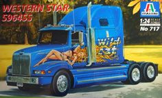 55.00$  Know more - http://ai39u.worlditems.win/all/product.php?id=32598003090 - Out of print product! Western Star Constellation 1:24 Italeri 717