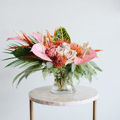 15 Ideas Flowers Boquette Design Floral Arrangements For 2019 Diy Wedding Flowers, Floral Wedding, Wedding Bouquets, Wedding Orange, Fruit Wedding, Tropical Flower Arrangements, Wedding Flower Arrangements, Table Arrangements, Wedding Table Centerpieces