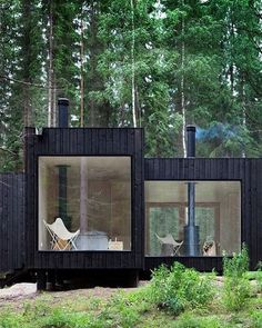 Scandi architecture at its best! Take us there now!! Who's coming? Source: Wabi…