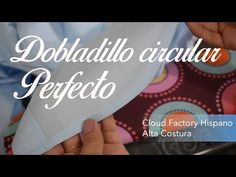 Learn how to make a perfect hem in curved edges. You can use this technique in any curved edge of a garment. Even for circular skirts. This video is a free d. Sewing Hacks, Sewing Tutorials, Sewing Projects, Sewing Tips, Paper Sunflowers, Perfect Curves, Bodycon Dress With Sleeves, Circular Pattern, Vest Pattern