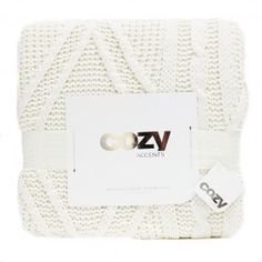 Doudou tricot torsadé (Blanc)