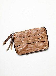 Distressed Travel Wallet