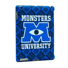 If only it was the ipad mini. Cute Ipad Cases, Ipad Mini Cases, Cool Cases, Disney Ipad Case, Disney Cases, Wallpaper Iphone Disney, Wallpaper Samsung, Monster University, Ipod Touch