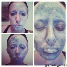 Statue #facepaint #bodyart #makeupbymarley
