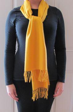 mustard yellow winter scarf dreams... women's unique gift.
