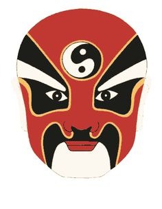 chinese mask - Google Search Chinese Mask, Opera, Dragon, Stage, Masks, Painting, Fictional Characters, Makeup, Google Search