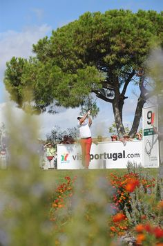 Portugal Masters 2012  Via uropean Tour  Fredrik Andersson Hed plays a shot during the first round of the Portugal Masters at the Victoria Golf Course in Vilamoura, Algarve  #Portugal