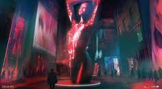 ArtStation - Red Light District -DXMD, Mathieu Latour-Duhaime