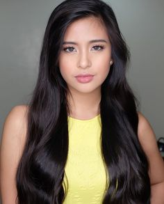 How to Achieve Long, Luscious Hair According to Gabbi Garcia's Stylist Filipina Beauty, Luscious Hair, Asian Hair, Brunette Beauty, Hair Care Tips, Easy Hairstyles, About Hair, Pretty People, Make Up