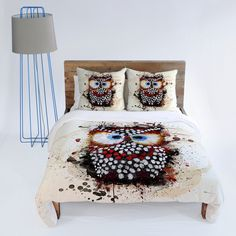 Msimioni The Owl Duvet Cover