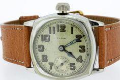 Unique Elgin Wrist Watch by timekeepersinclayton on Etsy