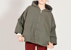 jacket frav_carin in army green