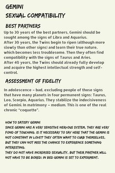 Scorpio and gemini sexually compatible