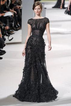 black dress | details
