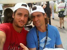 Two of my favorite spanish tennis players...Fecliciano & David. Yes please.