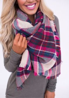 Blanket scarf Fashion And Beauty Tips, Passion For Fashion, Fall Winter Outfits, Autumn Winter Fashion, Winter Style, Dottie Couture Boutique, Casual Outfits, Fashion Outfits, Women's Fashion
