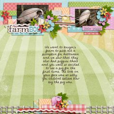 Layout using {Oinka-Doodle_moo} Digital Scrapbook Kit by Digilicious Design http://www.sweetshoppedesigns.com/sweetshoppe/product.php?productid=28633&cat=0&page=1 #digiscrap #digitalscrapbooking #digiliciousdesign #oinkadoodlemoo
