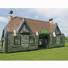The Hogshead Inflatable Pub the ideal gift for the man who wants his own pub