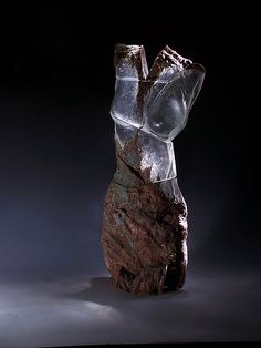Glass Torso: Caleb Nichols: Art Glass Sculpture | Artful Home