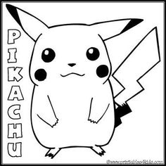pokemon pikachu coloring pages printable   how to draw ninja ... - Coloring Pages Pokemon Pikachu