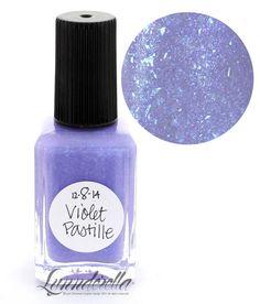 Lynnderella Limited Edition Nail Polish— December 8. Violet Pastille #Lynnderella