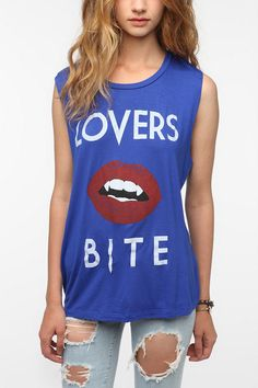 Lords of Liverpool Lovers Bite Muscle Tee